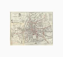 Vintage Map of Rennes France (1905)  Unisex T-Shirt