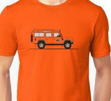A Graphical Interpretation of the Defender 110 Station Wagon G4 Challenge Unisex T-Shirt