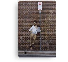 No Stopping Street Art Canvas Print