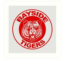 Saved by the bell: Bayside Tigers Art Print