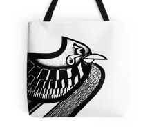 Camouflage Bird Tote Bag
