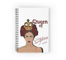 Queen of Everything Spiral Notebook