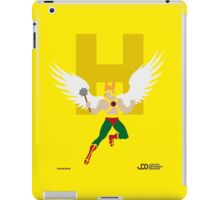 Hawkman - Superhero Minimalist Alphabet Clothing iPad Case/Skin