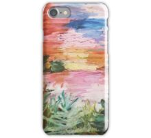 Oil Pastel Painting iPhone Case/Skin