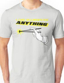 I Can Accomplish Anything - Black and Yellow Unisex T-Shirt