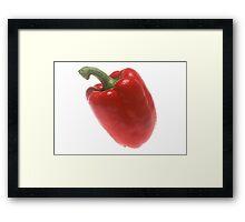 Red Pepper  Framed Print