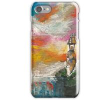 Oil Pastel Lighthouse iPhone Case/Skin