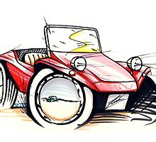 Beach Buggy 01 by Richard Yeomans