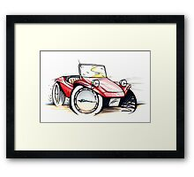 Beach Buggy 01 Framed Print