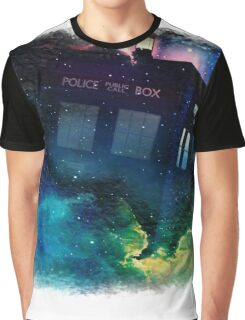 Tardis in Time & Space Graphic T-Shirt