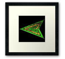 Green Arrow Emerald Archer Framed Print