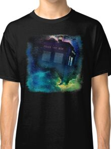 Tardis in Time & Space Classic T-Shirt
