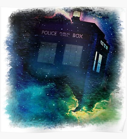 Tardis in Time & Space Poster