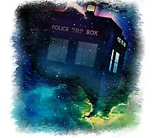 Tardis in Time & Space Photographic Print