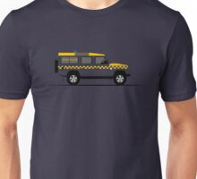 A Graphical Interpretation of the Defender 110 Station Wagon HM Coastguard Unisex T-Shirt