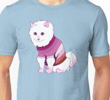 Lesbian Flag Cat Unisex T-Shirt