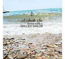Skilled Sailors Photographic Print