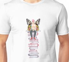 Sunset Moth + Books Unisex T-Shirt