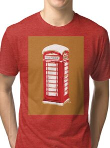 Snow in Great Brittain Tri-blend T-Shirt