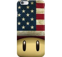 USA Mario's mushroom iPhone Case/Skin