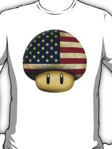USA Mario's mushroom T-Shirt