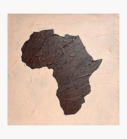 Afrika Schoko Vanille Photographic Print