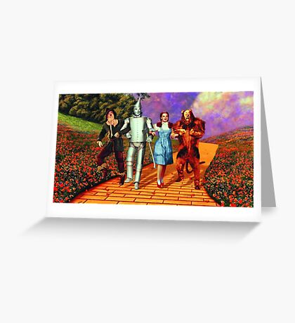 Down the Yellow Brick Road Greeting Card