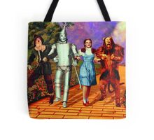 Down the Yellow Brick Road Tote Bag