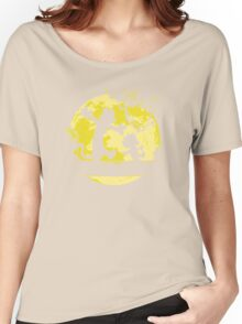 calvin & hobbes on the moon Women's Relaxed Fit T-Shirt