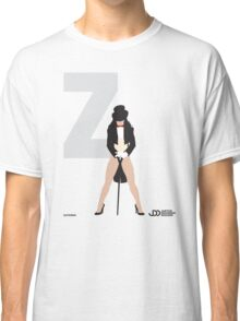 Zatanna - Superhero Minimalist Alphabet Clothing Classic T-Shirt