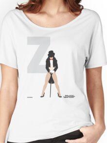 Zatanna - Superhero Minimalist Alphabet Clothing Women's Relaxed Fit T-Shirt