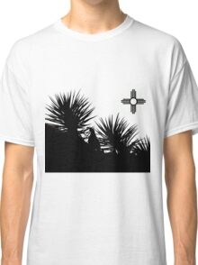 Quail in the yuccas Classic T-Shirt