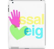 Ma, Ssal, Cor, Eig iPad Case/Skin