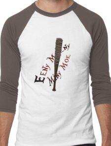 Eeny Meeny Miny Moe Men's Baseball ¾ T-Shirt