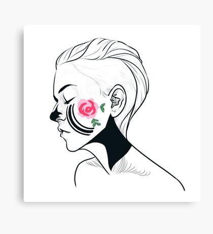 Emmy Facepaint Canvas Print