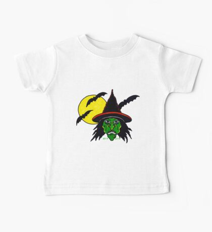 HALLOWEEN WITCH Baby Tee