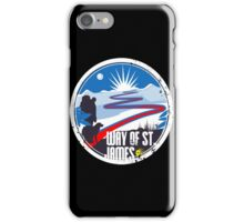 Way of St.James wanderer adventure track iPhone Case/Skin