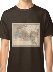 Vintage Map of The Roman Empire (1838) Classic T-Shirt