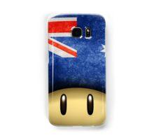 Australia Mario's mushroom Samsung Galaxy Case/Skin