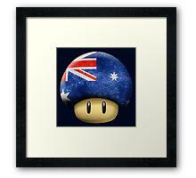 Australia Mario's mushroom Framed Print