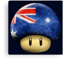 Australia Mario's mushroom Canvas Print