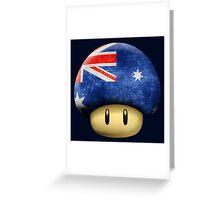 Australia Mario's mushroom Greeting Card