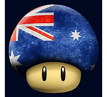 Australia Mario's mushroom Photographic Print