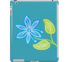 Blue Flower iPad Case/Skin