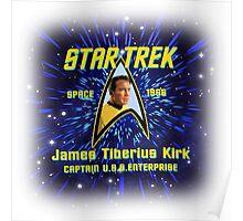 Star Trek James Tiberius Kirk Poster