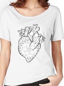 Crystal Heart Women's Relaxed Fit T-Shirt