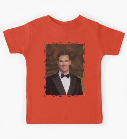 Benedict Cumberbatch - Oil Paint Art Kids Tee