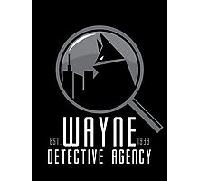 Wayne Detective Agency Photographic Print