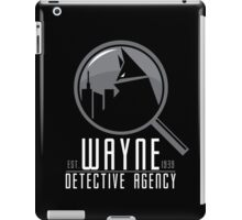 Wayne Detective Agency iPad Case/Skin