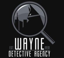 Wayne Detective Agency by JRBERGER